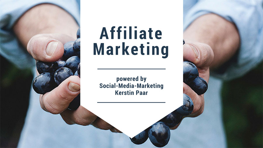 Affiliate Marketing Kerstin Paar, Affiliate Link erstellen
