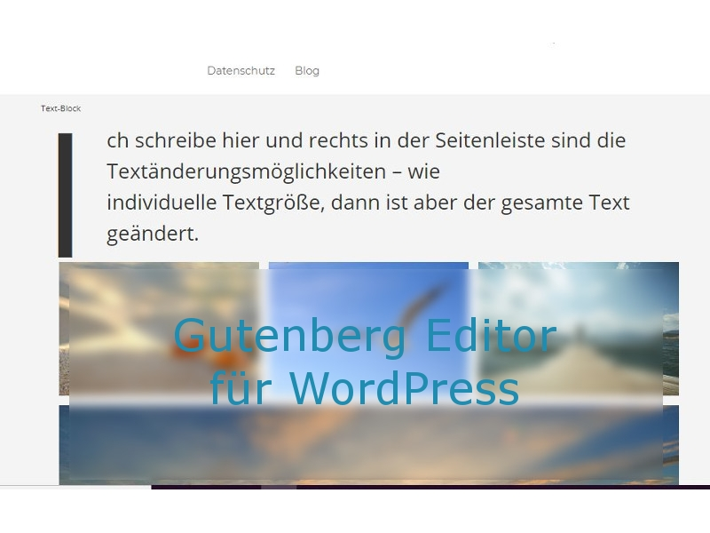 WordPress Gutenberg Tutorial: Der WordPress Editor ab Version 5.0
