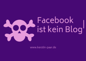 facebook vs. blog