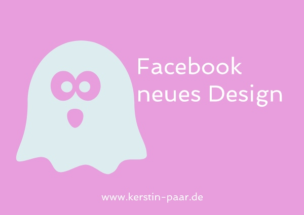 facebook neues design