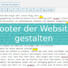 texteditor wordpress website gestalten